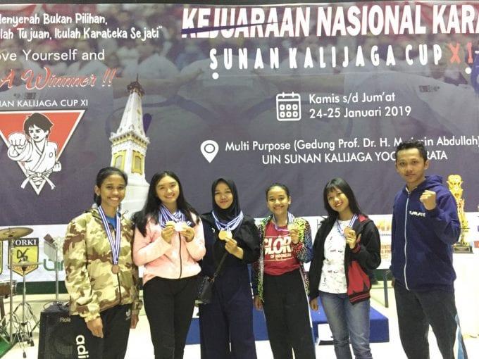 Atlet Muda FK-KMK Raih Kejuaraan Karate Nasional